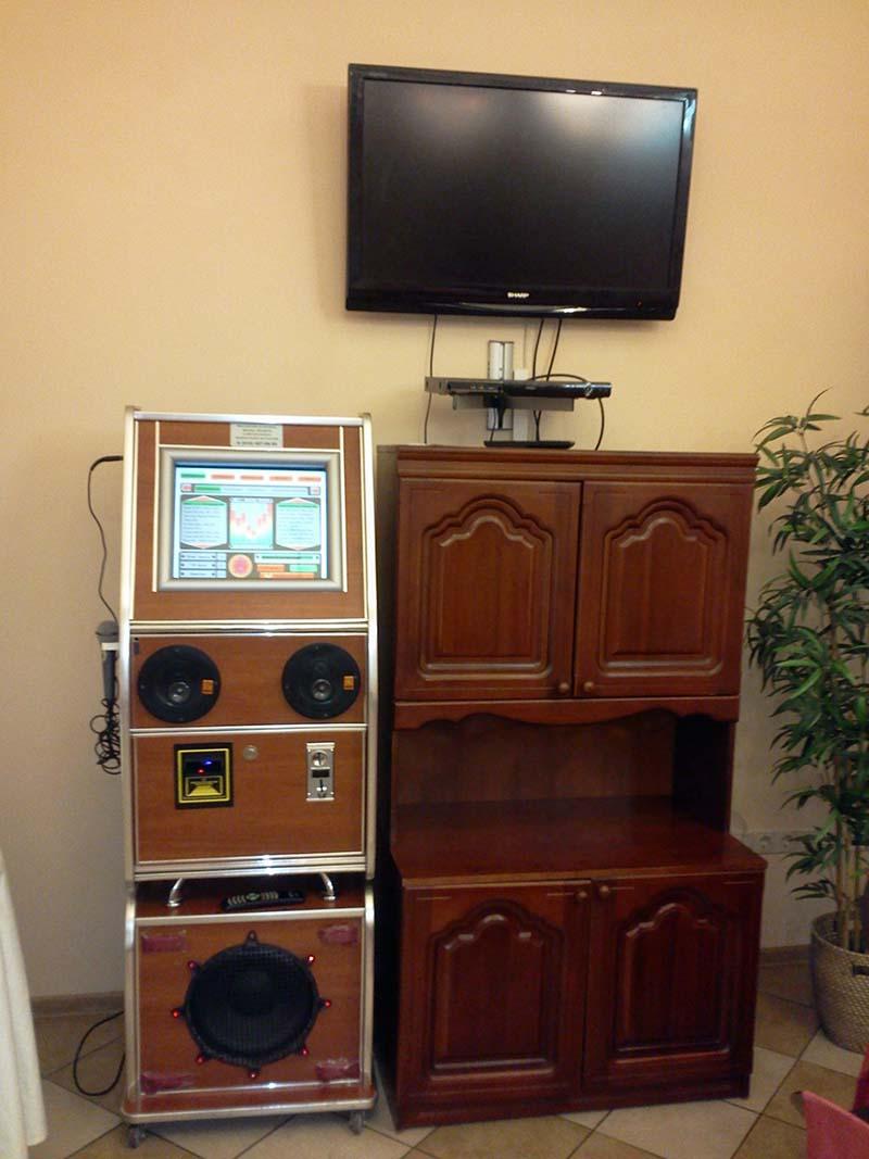 Подключение музыкального автомата к телевизору