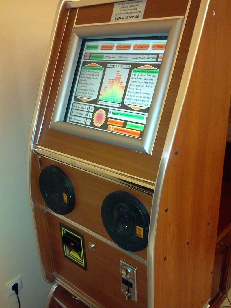 Купить музыкальный автомат б/у